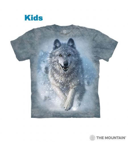 Kids Snow Plow T-shirt | The Mountain®